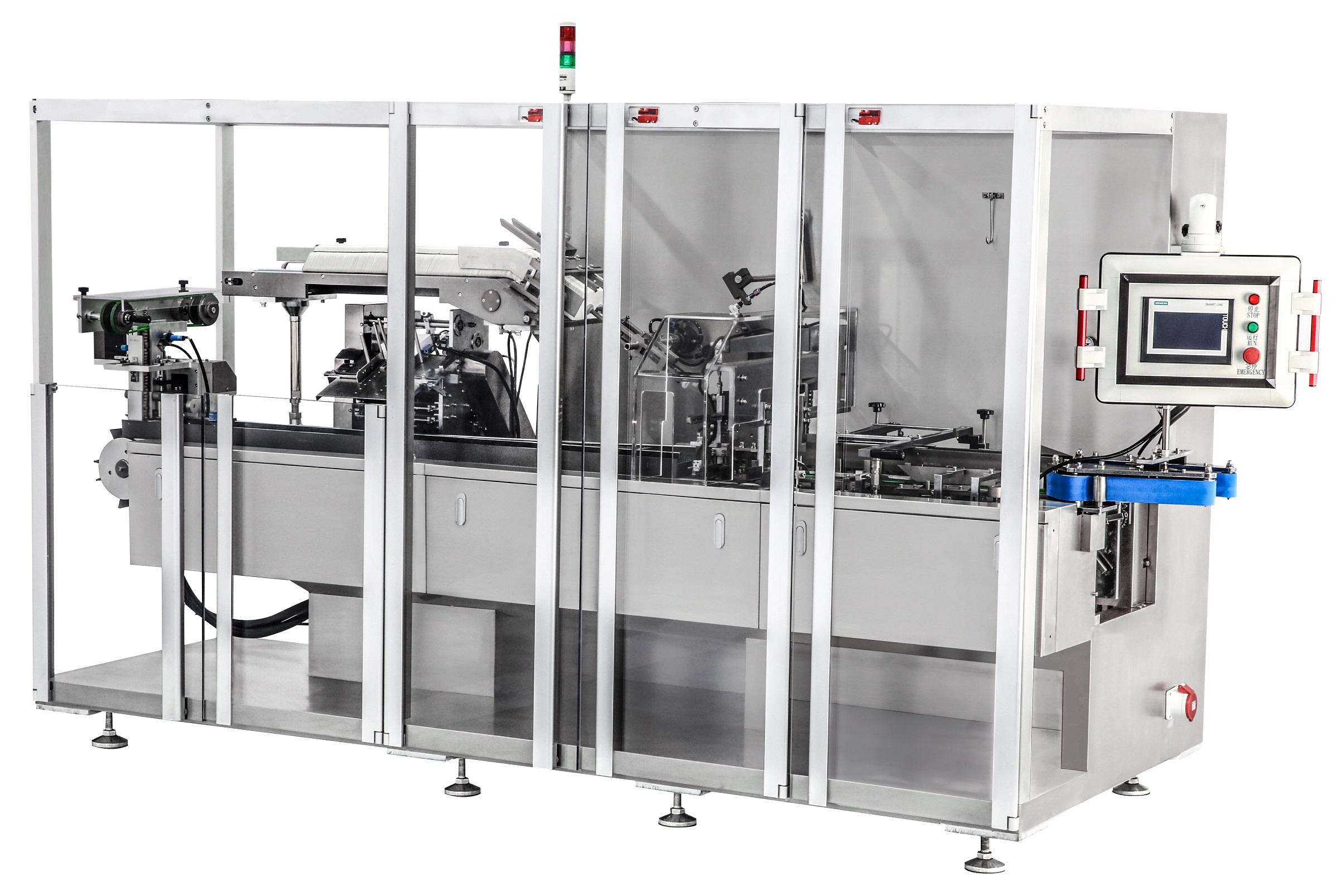 JKZ-120W卧式装盒机