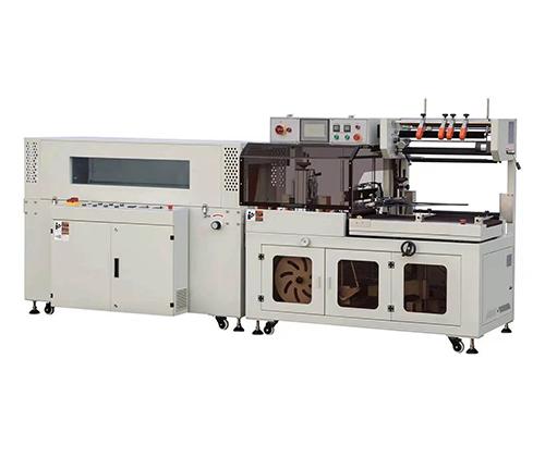 ESD450C全自动边封机+BS5030LW热收缩包装机