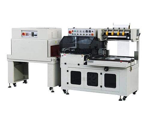FQL450S全自动L型封切机+BS4535LA热收缩包装机