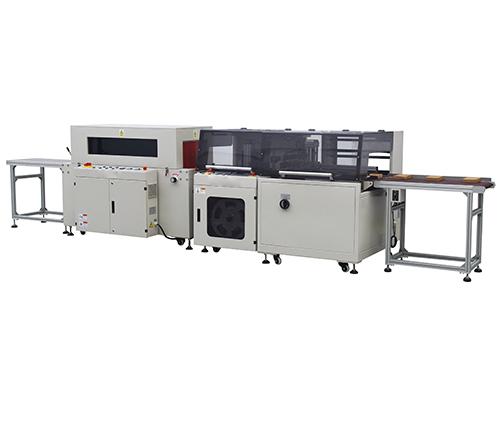 JKH-450+JK-500L全自动高速边封热收缩包装机